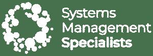 SMS Landscape White Logo designed for Website footer
